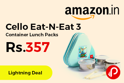 Cello Eat-N-Eat 3 Container Lunch Packs