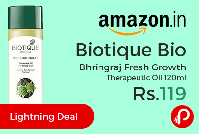 Biotique Bio Bhringraj Fresh Growth Therapeutic Oil 120ml