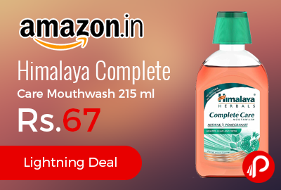 Himalaya Complete Care Mouthwash 215 m