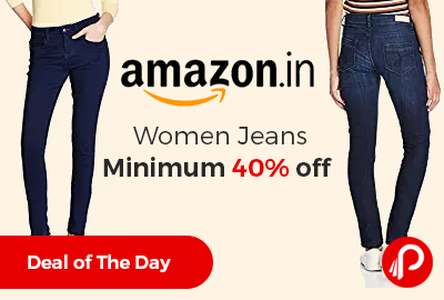 Women Jeans Minimum 40% off - Amazon