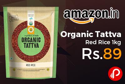 Organic Tattva Red Rice 1kg