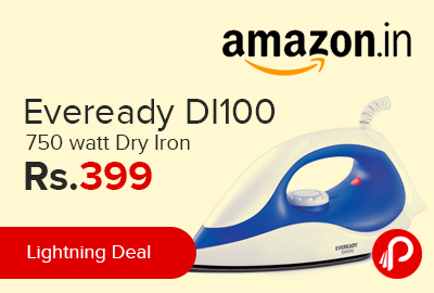 Eveready DI100 750 watt Dry Iron