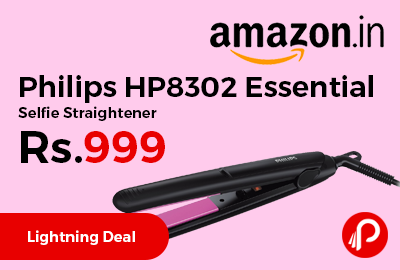 Philips HP8302 Essential Selfie Straightener