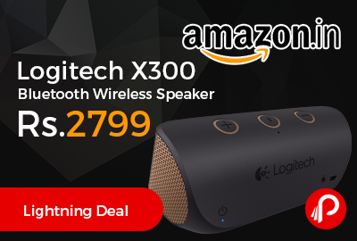 Logitech X300 Bluetooth Wireless Speaker