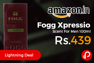 Fogg Xpressio Scent For Men 100ml