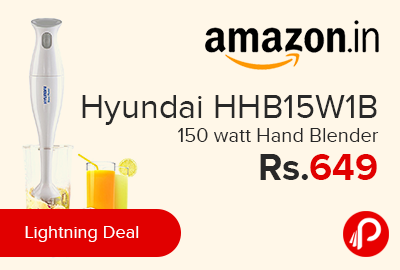 Hyundai HHB15W1B 150 watt Hand Blender