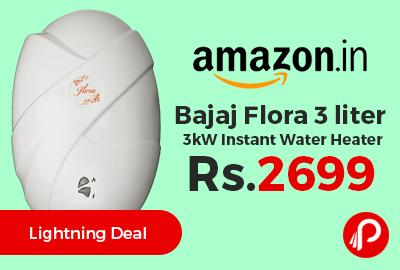 Bajaj Flora 3 liter 3kW Instant Water Heater