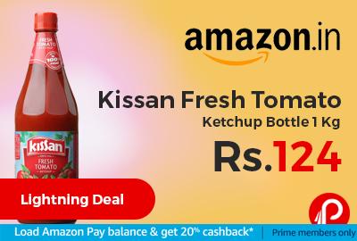 Kissan Fresh Tomato Ketchup Bottle 1 Kg