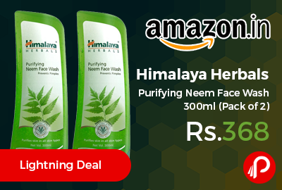 Himalaya Herbals Purifying Neem Face Wash 300ml