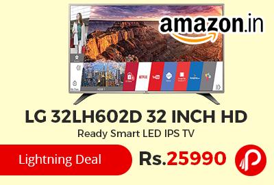 LG 32LH602D 32 inch HD Ready Smart LED IPS TV