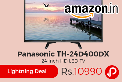 Panasonic TH-24D400DX 24 Inch HD LED TV at Rs.10990 Only - Amazon