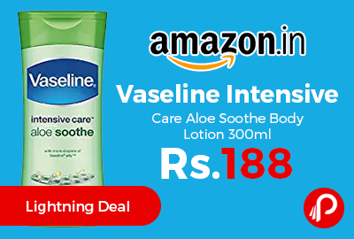 Vaseline Intensive Care Aloe Soothe Body Lotion 300ml