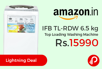 IFB TL-RDW 6.5 kg Top Loading Washing Machine at Rs.15990 Only - Amazon