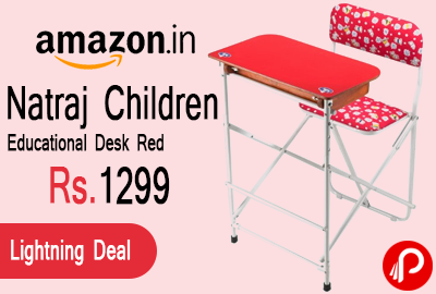 Natraj Children Educational Desk Red