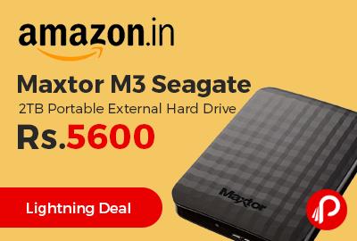 Maxtor M3 Seagate 2TB Portable External Hard Drive