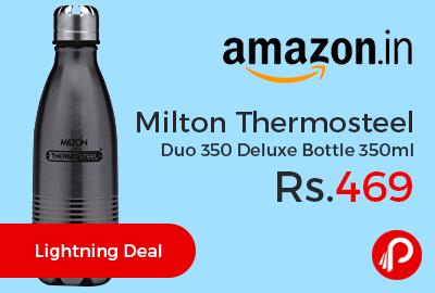 Milton Thermosteel Duo 350 Deluxe Bottle 350ml