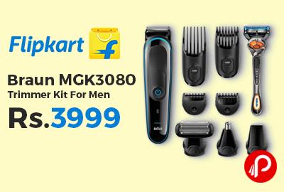 Braun MGK3080 Trimmer Kit For Men
