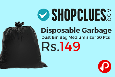 Disposable Garbage Dust Bin Bag Medium size 150 Pcs