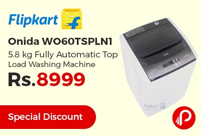 Onida WO60TSPLN1 5.8 kg Fully Automatic Top Load Washing Machine