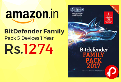 BitDefender Family Pack 5 Devices 1 Year