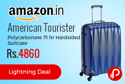 American Tourister Polycarbonate 71 ltr Hardsided Suitcase