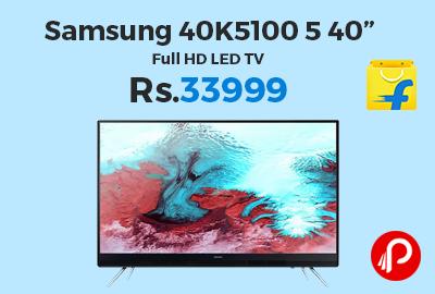 """Samsung 40K5100 5 40"""" Full HD LED TV"""