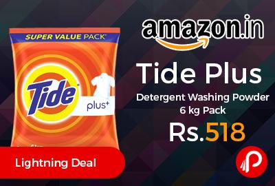 Tide Plus Detergent Washing Powder 6 kg