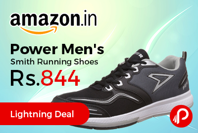 Power Men's Smith Running Shoes Just at Rs.844 Only - Amazon