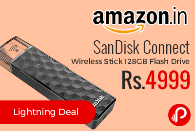 SanDisk Connect Wireless Stick 128GB Flash Drive