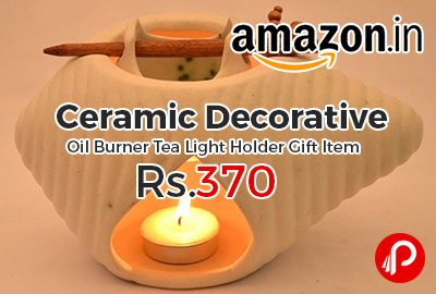 Ceramic Decorative Oil Burner Tea Light Holder Gift Item