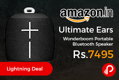 Ultimate Ears Wonderboom Portable Bluetooth Speaker at Rs.7495 Only - Amazon