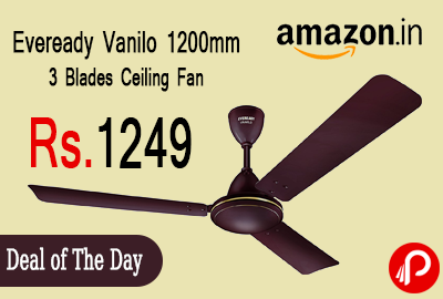 Eveready Vanilo 1200mm 3 Blades Ceiling Fan