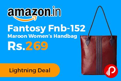 Fantosy Fnb-152 Maroon Women's Handbag