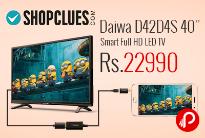 "Daiwa D42D4S 40"" Smart Full HD LED TV"