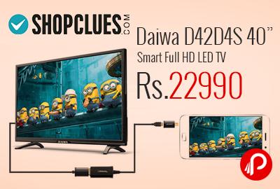 "Daiwa D42D4S 40"" Smart Full HD LED TV"
