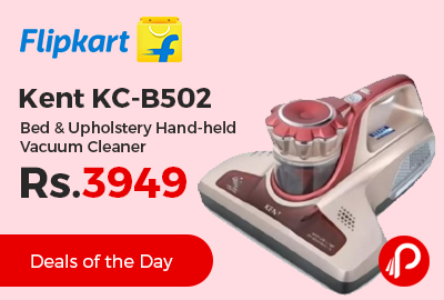 Kent KC-B502 Bed & Upholstery Hand-held Vacuum Cleaner