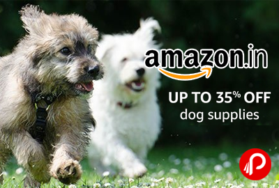Dog Supplies Products upto 35% off - Amazon