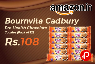 Bournvita Cadbury Pro Health Chocolate Cookies