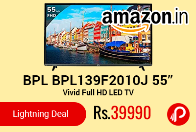 "BPL BPL139F2010J 55"" Vivid Full HD LED TV"