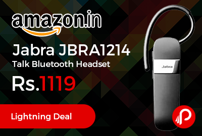 Jabra JBRA1214 Talk Bluetooth Headset