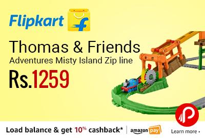 Thomas & Friends Adventures Misty Island Zip line