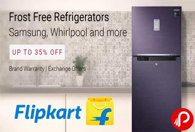 Frost Free Refrigerators Samsung, Whirlpool Upto 35% off - Flipkart