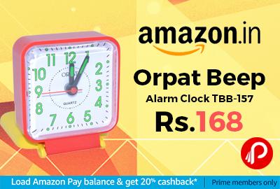 Orpat Beep Alarm Clock TBB-157