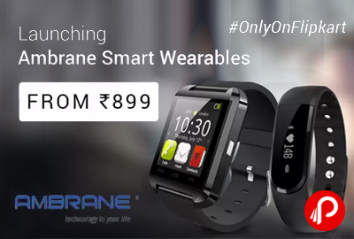 Ambrane Smart Wearables SmartWatch