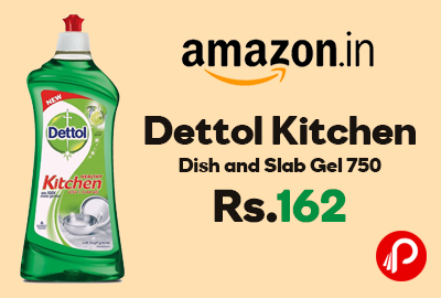 Dettol Kitchen Dish and Slab Gel 750 ml