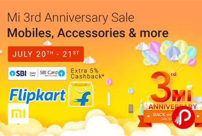 Mi 3rd Anniversary Sale