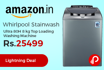 Whirlpool Stainwash Ultra 80H 8 kg Top Loading Washing Machine