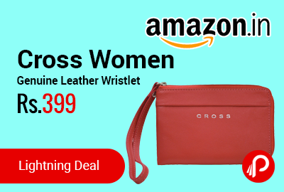 Cross Women Genuine Leather multipurpose Wristlet