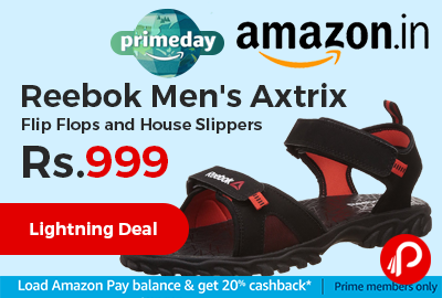 Reebok Men's Axtrix Flip Flops and House Slippers