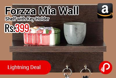 Forzza Mia Wall Shelf with Key Holder